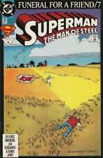 DC COMIC SUPERMAN FUNERAL FOR A FRIEND/7  # 21 BIN 23