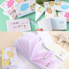 Cute Cartoon Plan Schedule Check Stick Sticky Notes Bookmark Pads Post It MemoY
