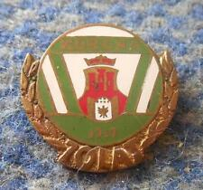 KORONA KRAKOW BASKETBALL POLAND CLUB 70 ANNIVERSARY / 1919-1989 / PIN BADGE