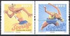 Sweden 2006 Kluft/Bergqvist/Athletes/Sports/Games/Athletics 2v coil pr (n43191)