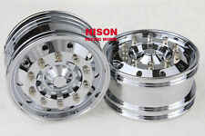 1/14 Highlighting Electroplating Wheels 2pcs For Tamiya 1:14 Tractor Truck