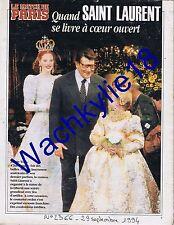 Paris Match 2366 - 29/09/1994 Dieuleveut Yves Saint-Laurent Jules Verne Bousquet