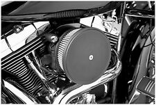 Arlen Ness - 18-771 - Stage II Steel Air Filter Cover, Black