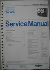 Philips n4502/15/19 magnétophone service manual