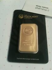Perth Mint Goldbarren,1 Unze, 99,9 in Zertifikat-Blister!! 24 St. Auktion