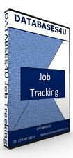 Job Repair/Servicing Tracking  Database  Software EASY TO USE