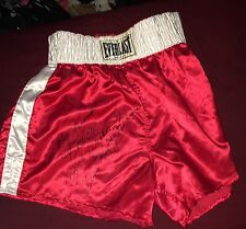 IVAN MIGHTY ROBINSON Hand Signed Autographed BOXING EVERLAST SHORTS ~ W/COA