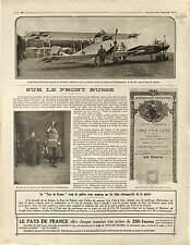 Aircraft Avion Albatros Luftstreitkräfte Adjudant Pilote Navarre Région 1916 WWI
