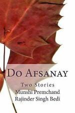 Urdu Masters: Do Afsanay : Two Stories by Munshi Premchand (2013, Paperback)