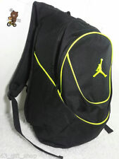 NWT NIKE AIR JORDAN YOUTH BOYS / MEN BLACK NEON  BASKETBALL BACKPACK LAPTOP BAG