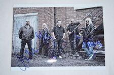 MAGNUM signed Autogramm  In Person 20x28 cm BOB CATLEY TONY CLARKIN kompl. Band