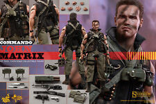 Hot Toys John Matrix Commando 1/6 Scale Figure Schwarzenegger Terminator New