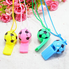 2X Colourful football Whistles / Classic Pea Whistle - Referee / World Cup CAHU