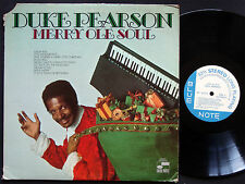DUKE PEARSON Merry Ole Soul LP BLUE NOTE BST 84323 Orig US 1969 Piano Jazz