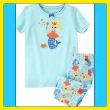 NWT 6-12 Gymboree MERMAID MAGIC 2pc Shorts Top Set Cotton GYMMIES PJs Sleepwear