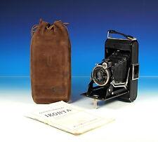 Zeiss Ikon Ikonta 520/14 + Carl Zeiss Jena Tessar 4.5/8cm vintage camera -101102