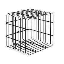 Zomo VS-Rack Cube Noir / Noir, Rangement en vinyle pour env. 100-120 LPs NEUF