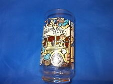 THE GREAT MUPPET CAPER,HAPPINESS HOTEL, MCDONALDS DRINKING GLASS, 1981