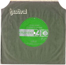 "LULU - OH ME, OH MY/SWEEP AROUND YOUR OWN BACK DOOR - 7"" 45 VINYL RECORD"