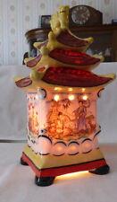 Rauchverzehrer Japanisches Teehaus gemarkt Ridem  mit Original  Bakeltstecker