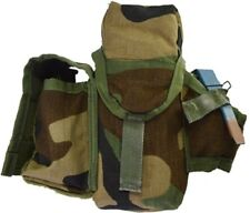 (1L) Military Molle Tripple M-4 30Rd Ammo Pouch Woodland Camo Safariland SPEAR