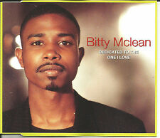 BITTY McLEAN Dedicated to the one I love MELLOW & DUB & rainin LIVE CD single