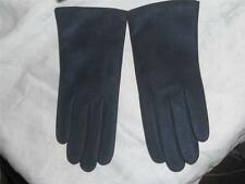 Fownes Ladies Genuine Leather 100% Cashmere Lined Gloves, Medium,Mineral
