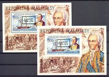 FRENCH  COL. MALAGASY 1976  MI# BL.14   PERF + IMPERF  ** MNH  VF 200 YEARS USA