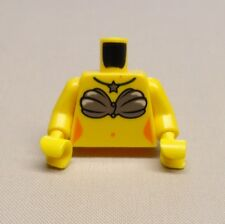 x1 NEW Lego Minifig Torso Girl Female w/ Mermaid Shell Bra and Star Necklace