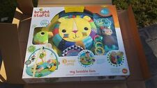 Bright Starts My Loveable Lion Activity Gym - BRAND NEW IN BOX Deluxe Plush Lion