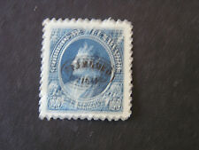**EL SALVADOR, SCOTT # O24,100c. VALUE 1896 OFFICIAL STAMPS COLUMBUS OVPT MH