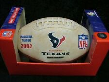 2002 TEXANS INAUGURAL COMMEMORATIVE FOOTBALL LIMITED EDITION ONLY 25,000
