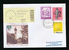 Brief aus 4501 Neuhofen an der Krems mit 0,04 Ergänzungsmarke    (B5)