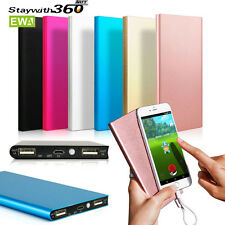 20000mAh Portable External Battery Charger Power Bank for Cell Phone Blue