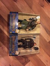 Deluxe Poseable Legolas And Gimli - Toybiz In Original Boxes