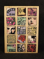 Rubber Stamp Hampton Art 4557 Paris Moments