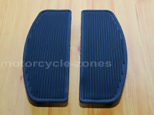 Front Rubber Rider Insert Floorboard Footboards Foot peg Footrest Pad For Harley