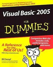 Visual Basic 2005 For Dummies, Bill Sempf, Good Condition, Book