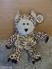 STARBUCKS BEARISTA CHEETAH BEAR 2005 40TH EDITION *W/TAG