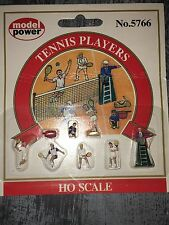 Model Power HO 1:87 Scale Train Figures People No. 5766 Tennis Players