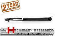 2 NEW REAR GAS SHOCK ABSORBERS FOR OPEL AGILA 2007- , SUZUKI SWIFT  /GH 335252/