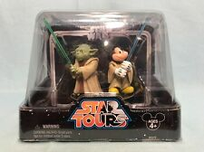 Star Wars Disney Star Tours Jedi Mickey & Yoda MISP