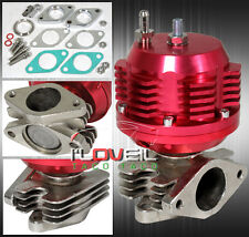 38MM RED TURBO CHARGER BOOST MANIFOLD 2 BOLT FLANGE EXTERNAL WASTEGATE + SPRING