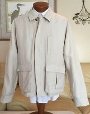 Stunning NEW Orvis Mens Field Casual Jacket Coat Linen Blend Sport Size L 44 46