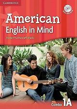 AMERICAN ENGLISH IN MIND LEVEL 1 COMBO A WITH DVD-ROM - NEW BOOK