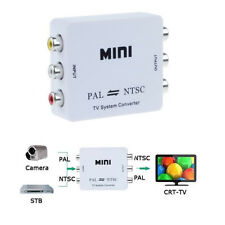 PAL/NTSC/SECAM to PAL/NTSC MINI Bi-directional HDTV HD Video TV System Converter
