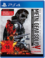 Ps4 Metal Gear Solid V 5 the definitive edition Phantom Pain & ground Zeroes nuevo