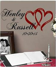 Personalized Hearts Wedding Decoration for Wall / Floor
