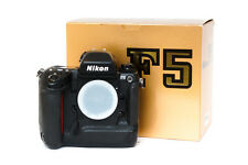 ☆EXC+++☆ Nikon F5 body in box. Only hobbyist use. Tested and working!