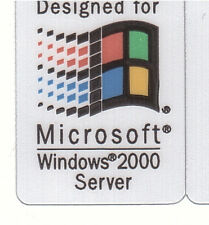 Designed for Microsoft Windows2000 Se Sticker